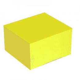 Līmlapiņas 75x75mm, 450 lapas, neon dzeltenas