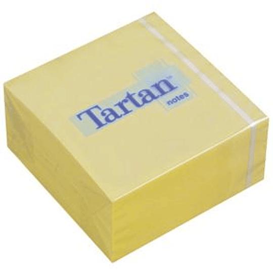 Стикеры 3M Tartan 76x76мм/400 листов, желтые