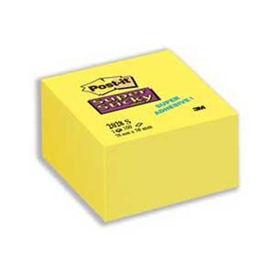 Стикеры 3M Post-it SuperSticky 76x76мм/350листов, желтые