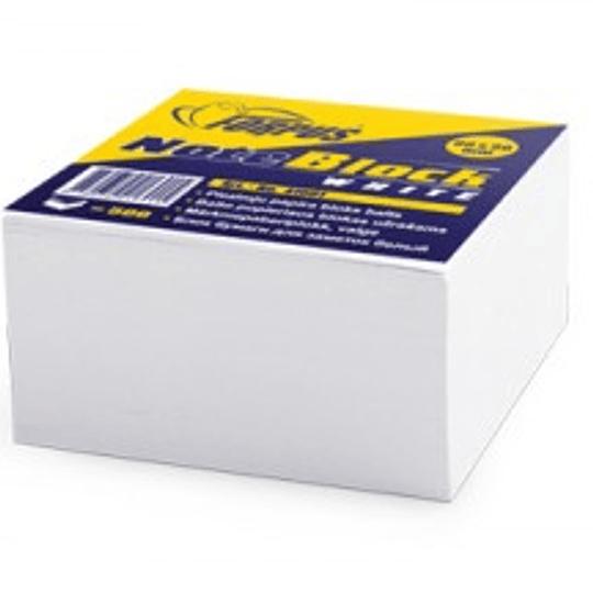 Бумага для заметок склеенная 90x90мм/500листов белая FORPUS