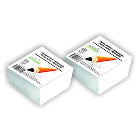 Бумага для заметок 90x90мм/500листов белая SMILTAINIS