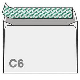 Конверт С6 (114х162мм) 10шт.