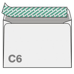 Конверты С6 (114х162мм) 1000шт.