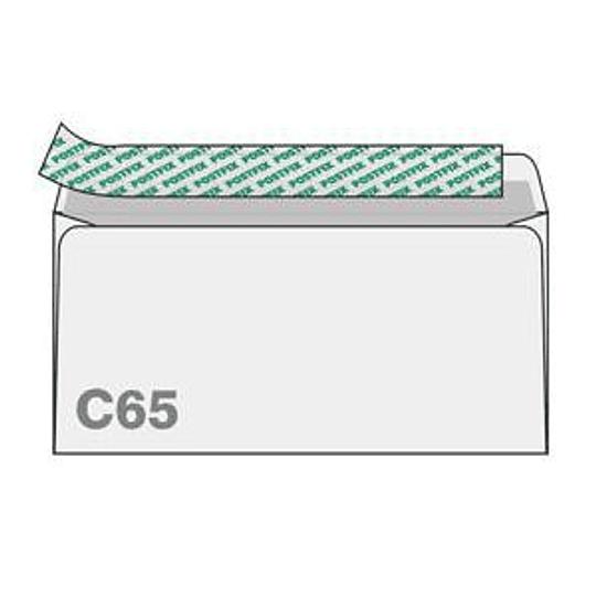 Конверты С65 (114х229мм) 10шт.