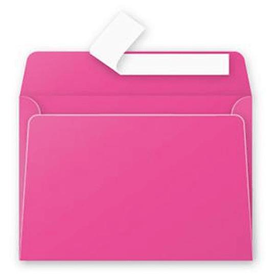Конверт С6 (114х162мм) розового цвета