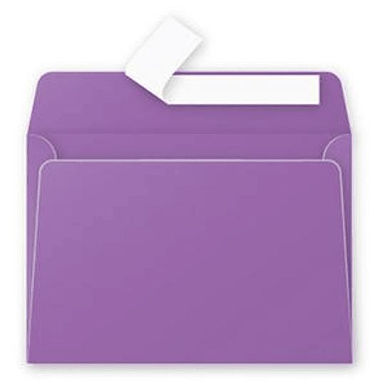 Конверт С6 (114х162мм) фиолетового цвета