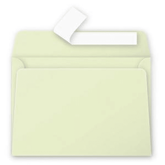 Конверт C6 (114x162 мм) светло-зеленый