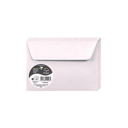 Конверт C6 114x162 розовый с блеском