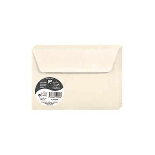 Конверт C6 114x162 кремовый с блеском