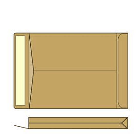 Конверты-пакеты HK B4/10 штук 250x353X40 мм коричневые