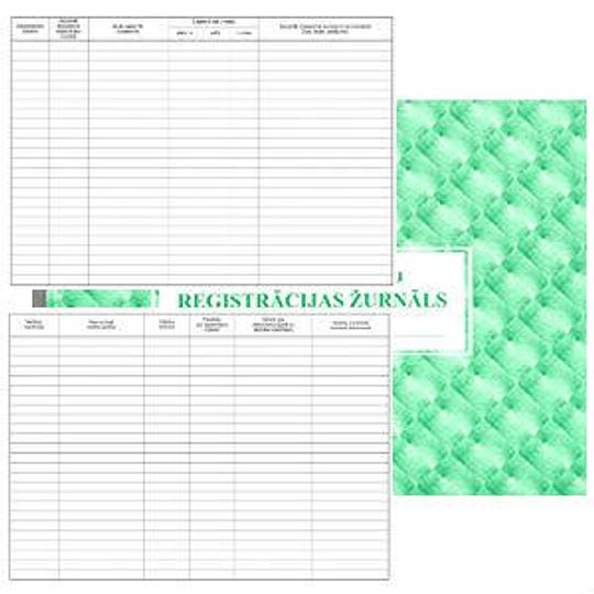 Регистрационный журнал принятых документов А4, 36 листов