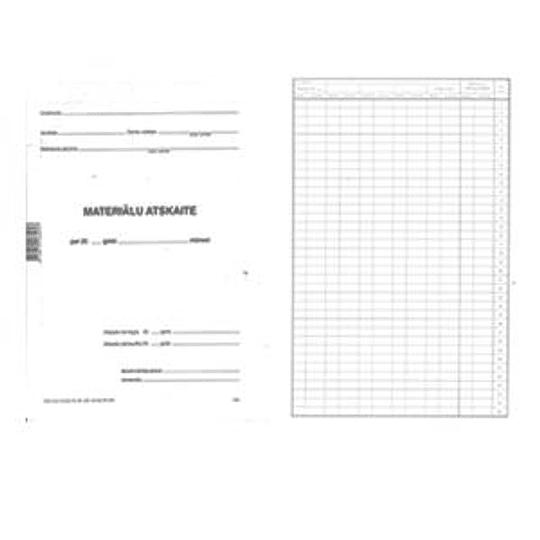 Отчет о материале A3D, 10 листов