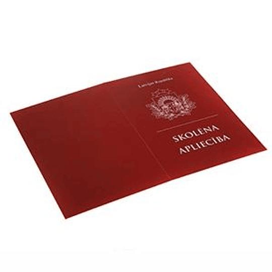 Ученический для 5 го - 12 го классов (красный)