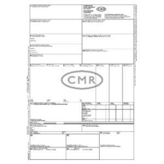 Таможенные декларации CMR А4-100 листов самокопирующиеся