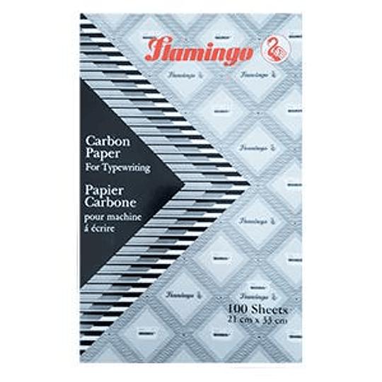 Копировальная бумага Flamingo А4/100листов чёрная