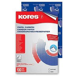 Kopējamais papīrs KORES, A4, 100 loksnes, zila krāsa