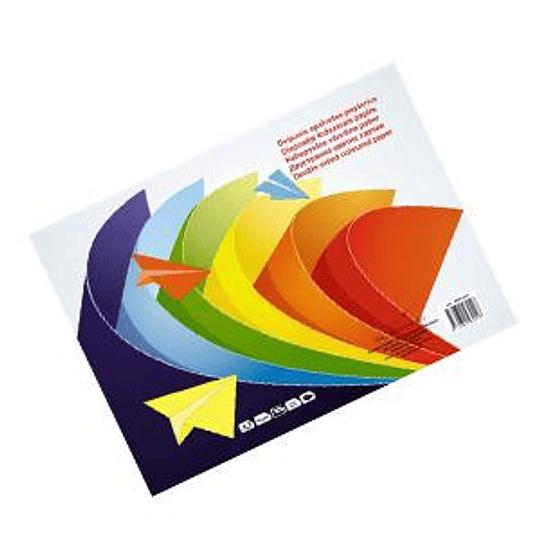 Апликационная бумага SMILTAINIS A3/8 цветов двухсторонняя, 16 листов