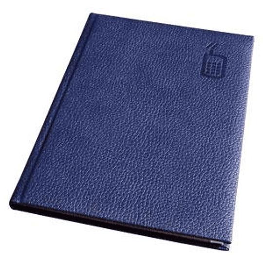 Телефонная книга AURORA A5/92 в линейку, синяя