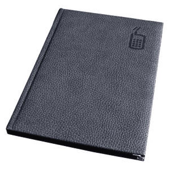Телефонная книга AURORA A5/92 в линейку, серая