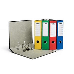 Reģistrs FORPUS A4/70mm dzeltena-marmora krāsa