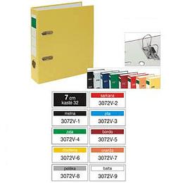 Регистр Multi-S вертикальный A5/70мм PVC/PVC разные цвета