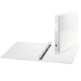 Mape ELFEN A4 ar 4 riņķiem balta