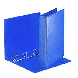 Папка A4 Panorama 4 D кольца 55мм синяя