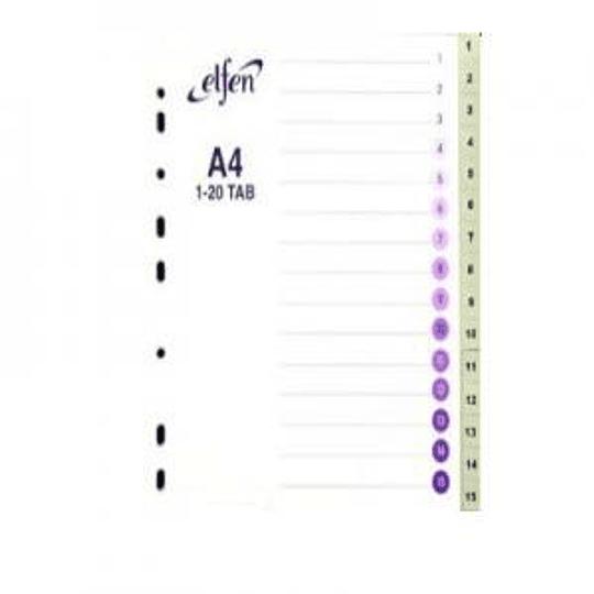 Разделитель ELFEN A4/1-15