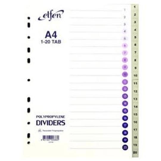 Разделитель ELFEN А4/1-20