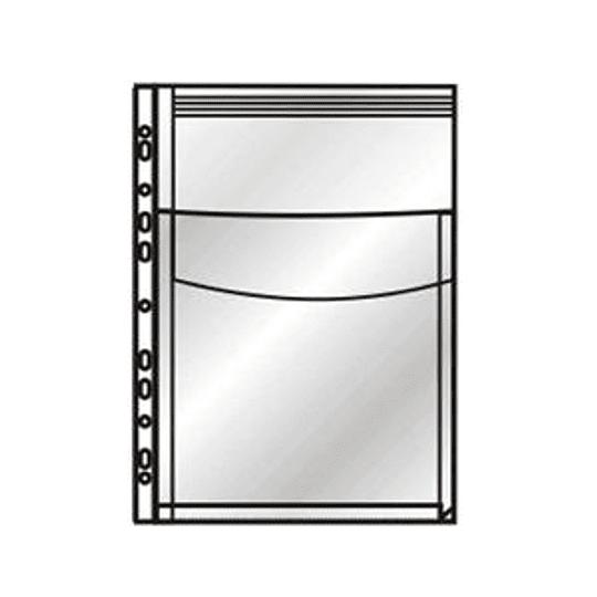Кармашек для каталогов DONAU A4 до 200 листов, с клапаном, матовый