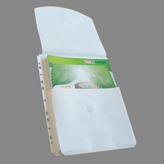 Кармашки Panta Plast A4, с клапаном, на 200 листов, 10 шт.