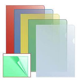 Папка-уголок матовая A4 зелёная