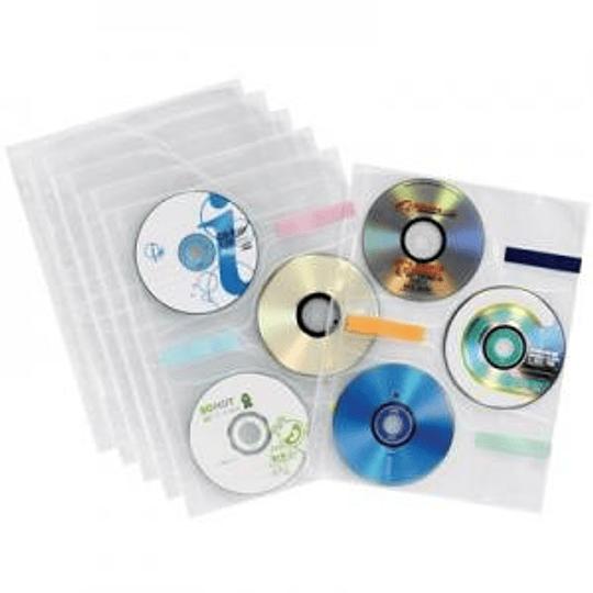Кармашки для дисков EAGLE A4/3CD 8штук