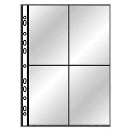 Кармашки для фотографий DONAU A4/4 фото - 10х15см (10 штук)