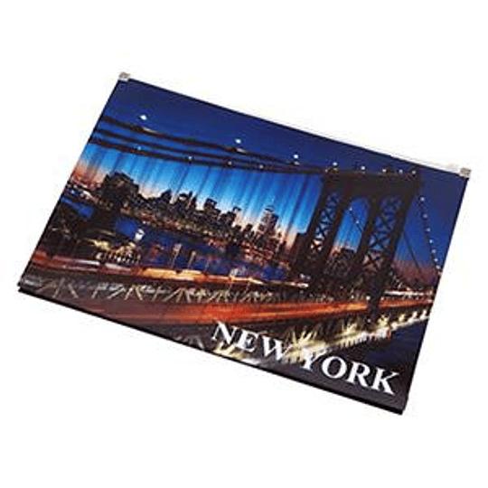 Папка со скользящим замком NEW YORK A4