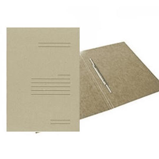 Скоросшиватель SMILTAINIS A4, натуральный картон