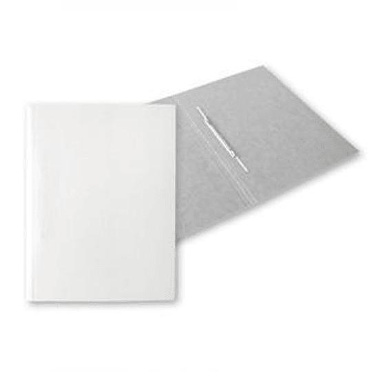 Скоросшиватель SMILTAINIS A4 белый, без печати