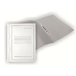 Скоросшиватель SMILTAINIS A4 белый