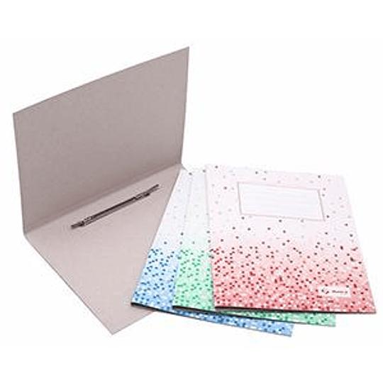 Скоросшиватель картонный Multi-S А4 серый