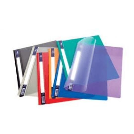 Cкоросшиватель глянцевый FORPUS A4+ фиолетовый