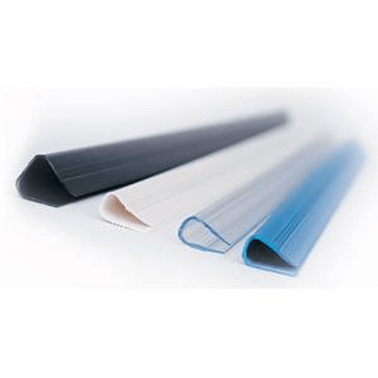 Зажимы для документов 3-6 мм белые (50 штук) Relido FELLOWES