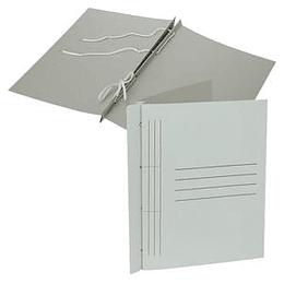 Папка с завязками А4, белая