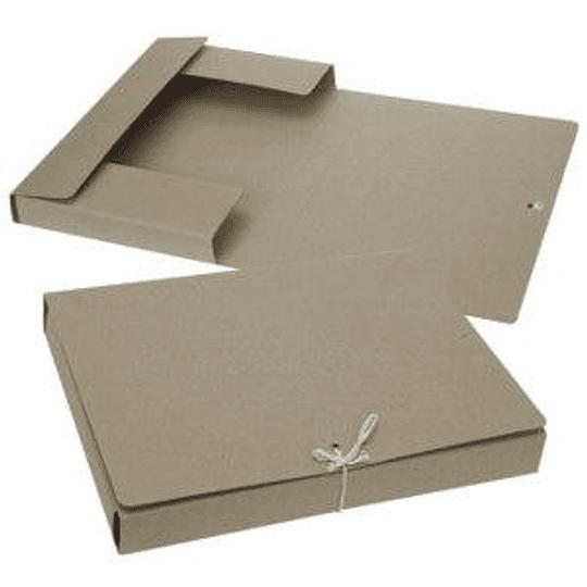 Папка картонная с завязками Multi-S A4 белая
