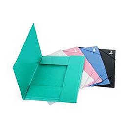 Mape ar gumiju A4, zaļa Basic, Forpus