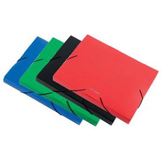 Папка на резинке Panta Plast Focus A4/30 мм, зеленая
