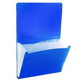 Mape kartotēka Classic ErichKrause, ar gumiju, 6 nod. zila