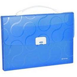 Portfelis-kartoteka OMEGA zila