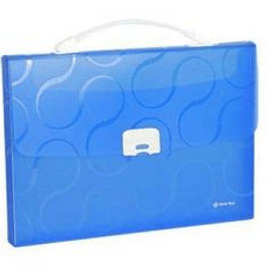 Портфель-картотека OMEGA синяя