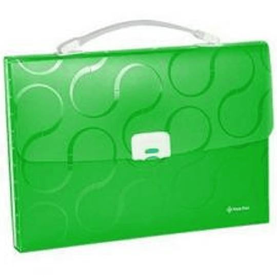 Портфель-картотека OMEGA зелёная