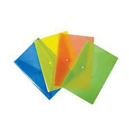 Папка на кнопке A5, разноцветные